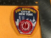 J1-69 NEW YORK FIRE DEPARTMENT PATCH - FIRE DEPARTMENT CITY OF NEW YORK