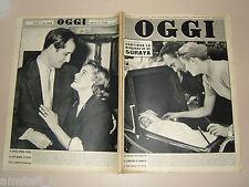 OGGI=1957/18=GRACE KELLY=CAROLINE DE MONACO=PETER VAN WOOD=MARONE=MARIA SCHELL=