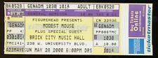 Modest Mouse UNUSED 2000 CONCERT TICKET The Moon & Antarctica Tour/stub/no-cd/lp