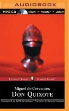 Don Quixote : Translated by Edith Grossman by Miguel de Cervantes (2015, MP3...