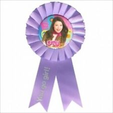 iCARLY GUEST OF HONOR RIBBON ~ Birthday Party Supplies Award Favor Disney Purple