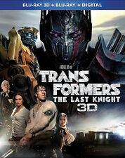 The Last Knight Transformers Blu-Ray + Digital HD with Ultr 3D Viewing Movie