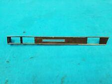 Mercedes 107 R107 SLC SL Armaturenbrett Zierleisten CHROMLEISTE Mitte 1076800171