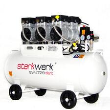 Starkwerk Druckluft Kompressor Silent Leise SW 477/8 Ölfrei Flüster Kompressor