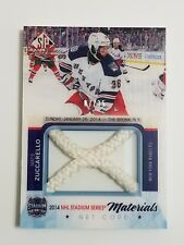 2015-16 sp game used hockey-M.Zuccarello net cord materials 07/35