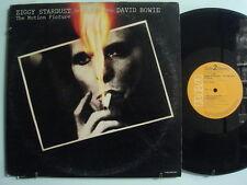 DAVID BOWIE Ziggy Stardust Motion Picture IMPORT 2xLP Japan OBI RCA w/ Insert