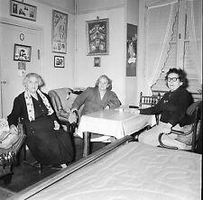 RIS ORANGIS c.1955 -Photo Édith Piaf Cadres Trapézistes-Négatif 6 x 6 - N6 IDF22