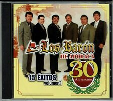 Los Baron de Apodaca 15 Exitos Vol 1   (Promotion)  BRAND NEW SEALED    CD