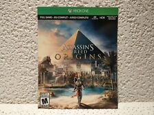 Assassin's Creed Origins Microsoft Xbox One 2017 Download Key Full Game