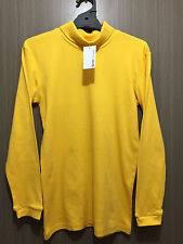 BNWT Girls/Boys Sz 12 Target School Gold Long Sleeve School Roll Neck Skivvy Top