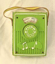 Fisher Price Music Box Pocket Radio Happy Birthday 768
