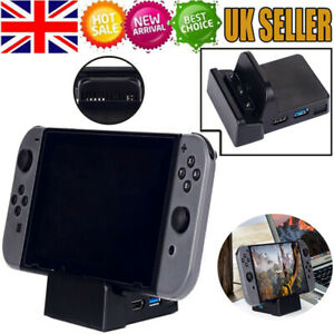 Mini Portable TV NS Dock for Nintendo Switch Console Replacement Dock Station