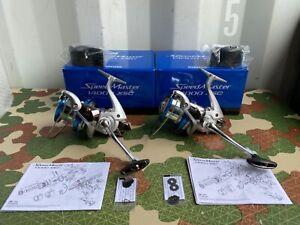 CARP FISHING TACKLE - 2 x SHIMANO SPEEDMASTER 14000 XSC BIG PIT REELS