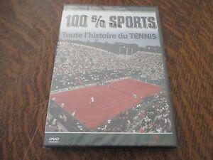 dvd 100% sports toute l'histoire du tennis