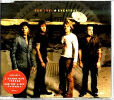 BON JOVI - EVERYDAY - 2002 VIDEO ENHANCED CD SINGLE - MINT