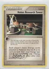 2005 Pokémon EX Delta Species Booster Pack Base 94 Holon Research Tower Card 2f4