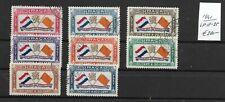 CURACAO @ 1941    Air Mail LP 18-25 @ cur. 76