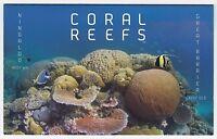2013 AUSTRALIA STAMP PACK 'CORAL REEFS' - 2 x PAIRS + MINI SHEET MNH