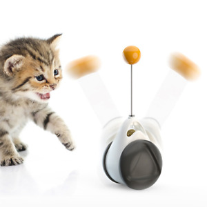 Tumbler Swing Toys Cats Interactive Balance Cat Chasing Toy Catnip Ball Teaser