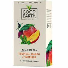 Good Earth Tropical Mango & Moringa Tea 15 Bags