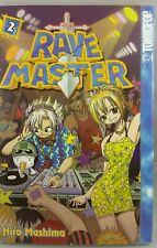 RAVE MASTER #2 JAPANESE MANGA COMICS ENGLISH HIRO MASHIMA TOKIOPOP. NEW UNREAD