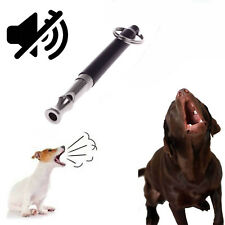 Dog Obedience Training Whistle UltraSonic Adjustable Pitch Volume Puppy