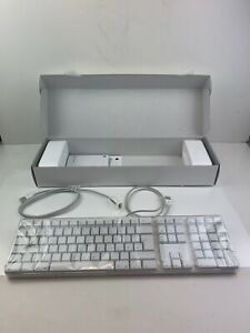 Apple White Keyboard - USB Extended GERMAN - Boxed M9034D/A NEW