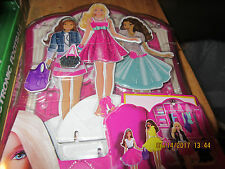 Barbie Dress Up Closet Magnetic Dolls & Clothes  by Mattel