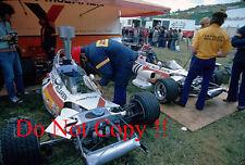 Yardley McLaren f1 Garage AREA FRANCESE GRAND PRIX 1972 fotografia 2