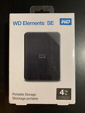WD ELEMENTS SD 4TB. USB 3.0. WESTERN DIGITAL. DISCO DURO. NUEVO. NACEX 24H