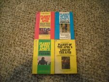 Planet Of The Apes Paperback Books Complete Set Of 4~Tv~Movie~Fantasy~Horror