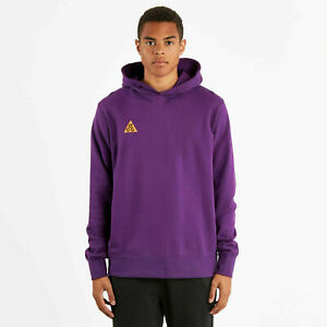 Nike ACG Men's NSW Pullover Hoodie Night Purple AT5500 537 L, M, S