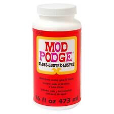 Plaid 131003 Mod Podge Gloss Lustre Finish 16 Ounces