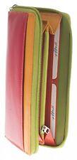 Graffiti/Golunski Medium leather zip around purse Style 7163 Colour Multi  RFID