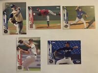 MILWAUKEE BREWERS 2020 Topps Pro Debut BASE TEAM SET (5 Cards)