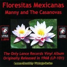 Manny & the Casanovas - Floresitas Mexicans [New CD]