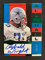 2018 PANINI PLATES & PATCHES RAYFOELD WRIGHT AUTO #ed 3/10