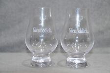 Pair Of (2) Glenfiddich Nosing & Tasting Glasses Glencairn Glass Whisky Tumbler
