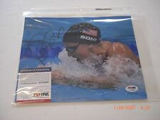 REBECCA SONI OLYMPIC GOLD MEDAL SWIMMER PSA/DNA SIGNED 8X10 PHOTO