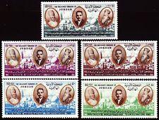 Jordanien Jordan 1966 ** Mi.591/95 Papst Paul VI. Pope Religion