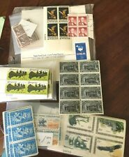 450 USA Unused FV $35.Postage Stamps 1960's & Cards 6,4,40,7,8,20 Cent Value