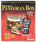 Microsoft Computer Game Pandora's Box (puzzle Game Of The Year Ed) Vg