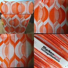 1 M tissu Dekostoff Rideau Rideau 70er Ans Floral True Vintage Fabric 1970 S
