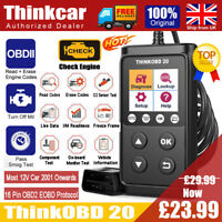Thinkcar Vehicle Car OBD2 Fault Code Reader Scanner Engine MIL Diagnostic Tool