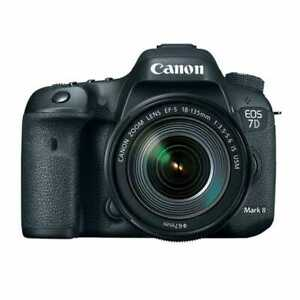 New Canon EOS 7D Mark II + 18-135mm IS USM (Canon Repack Stock)