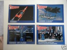 1990  Pizza Hut Thunderbirds TV show four card set  (only in Canada)