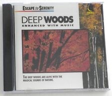 NEW sealed  Escape To Serenity: Deep Woods  Enhanced With Music  CD