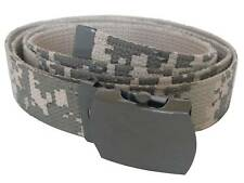 US Army Style DIGITAL CAMO Trouser BELT - 110cm Cotton Military Camouflage New