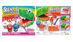 Crocodile Smile Scentos Scented Dough Dentist Set Kids Play Toys Clay +3