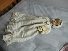 "Alberon Porcelain Baby Doll - Jamie 395/2000 - 16"" (27"" overall with dress)"